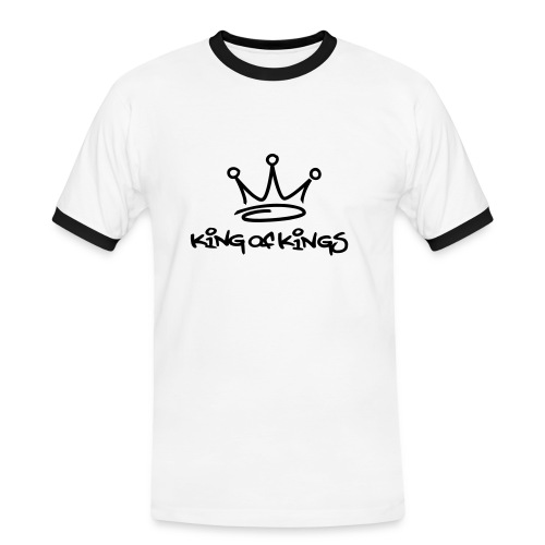 King of Kings - Premium - Mannen contrastshirt