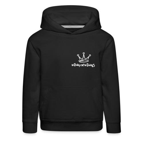 King of Kings - Premium Kids - Kinderen trui Premium met capuchon