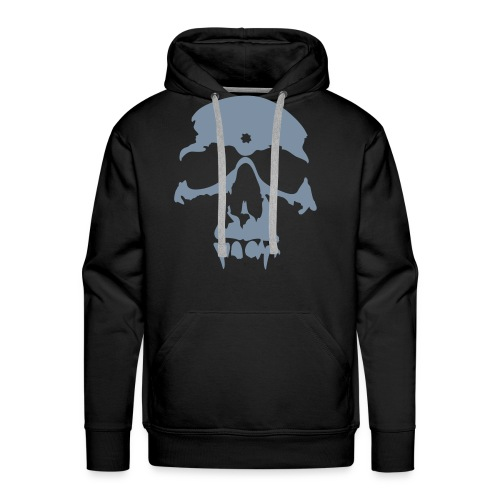 Skull Huudie - Miesten premium-huppari