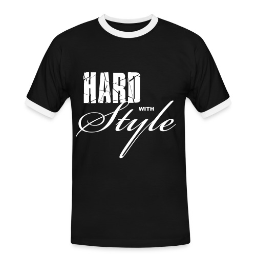 Hard With Style T-Shirt - Mannen contrastshirt