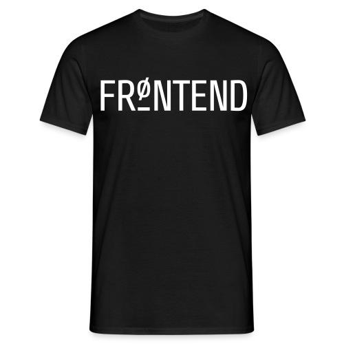 TYPO3 Frontend vs. TYPO3 Backend - Männer T-Shirt
