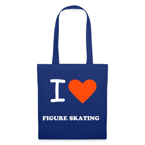 I Love Figure Skating Tote bag - Tote Bag