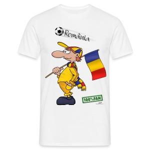 Fanshirt Romania - Männer T-Shirt