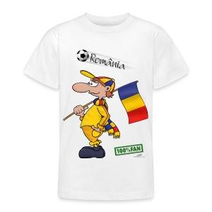 Fanshirt Romania - Teenager T-Shirt
