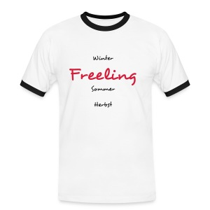 Charly's Line - Freeling for men - Männer Kontrast-T-Shirt