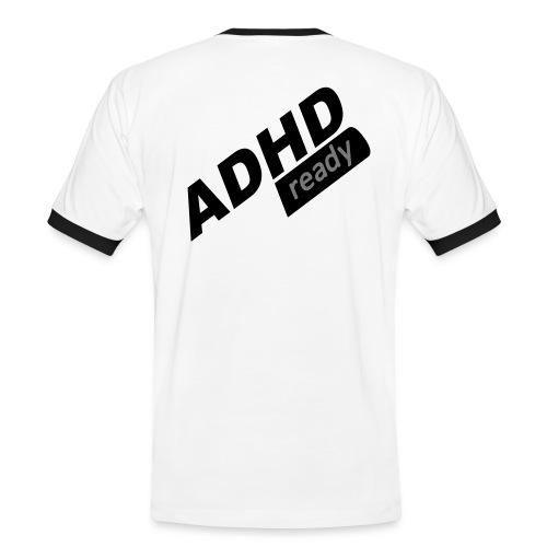 ADHD - Kontrast-T-skjorte for menn