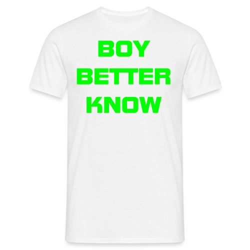Blue Boy Better Know Mens T-Shirt - Men's T-Shirt