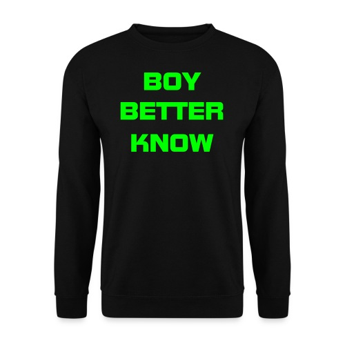 Blue Boy Better Know Mens Jumper - Men's Sweatshirt