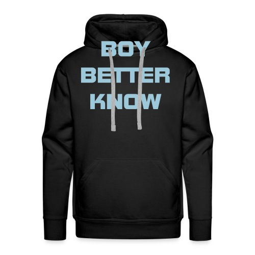 Boy Better Know (Bigger Logo) Hood Light Blue - Men's Premium Hoodie