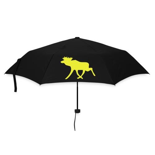Schweden-Schirm blau-gelb, mit Schwedenelch. - Regenschirm (klein)