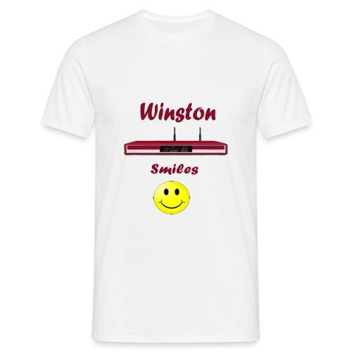 t shirt routeur Winston - T-shirt Homme