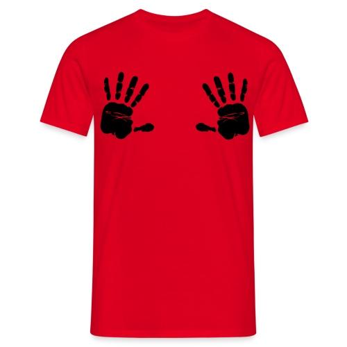 Hands Go Here - Men's T-Shirt