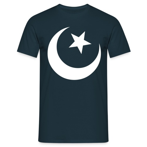 Moon and star  - Herre-T-shirt