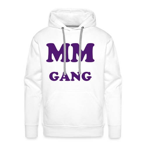MM GANG model PULL Rekta - Sweat-shirt à capuche Premium pour hommes