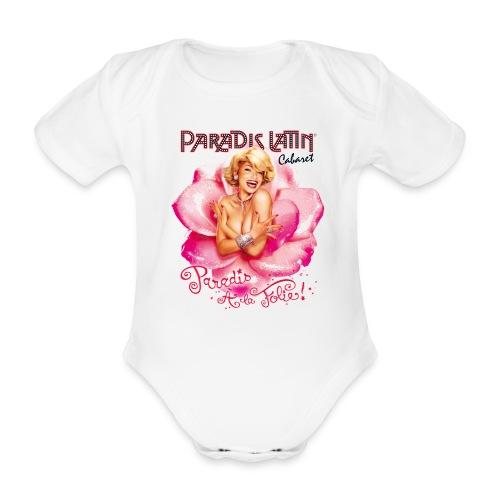 BABY SHIRT PARADIS A LA FOLIE - Body bébé bio manches courtes