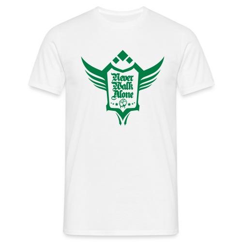 Neverwalkalone3 T-Shirt weiss - Männer T-Shirt