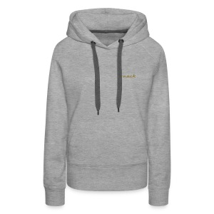 ark capuche grey-or - Sweat-shirt à capuche Premium pour femmes
