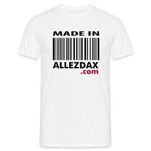 Made In [Blanc - H] - T-shirt Homme