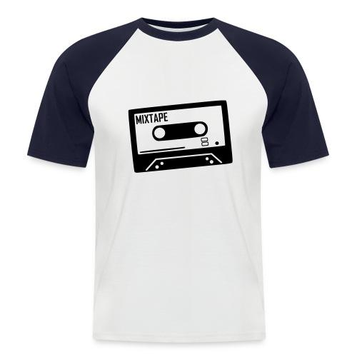 BBCassette - Mannen baseballshirt korte mouw