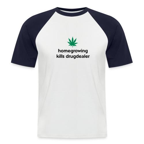 Grow1 - Männer Baseball-T-Shirt