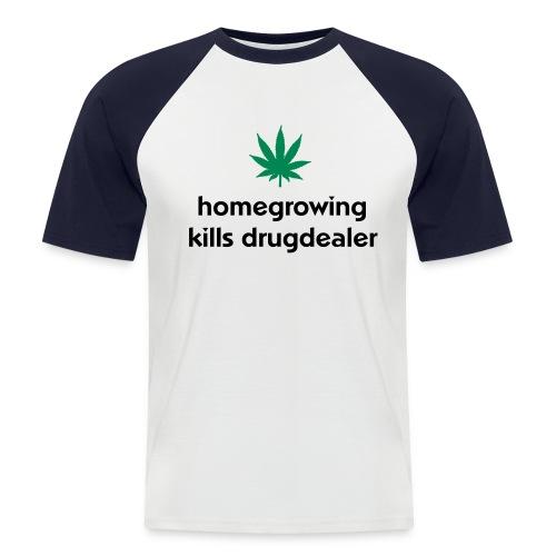 grow 2 - Männer Baseball-T-Shirt