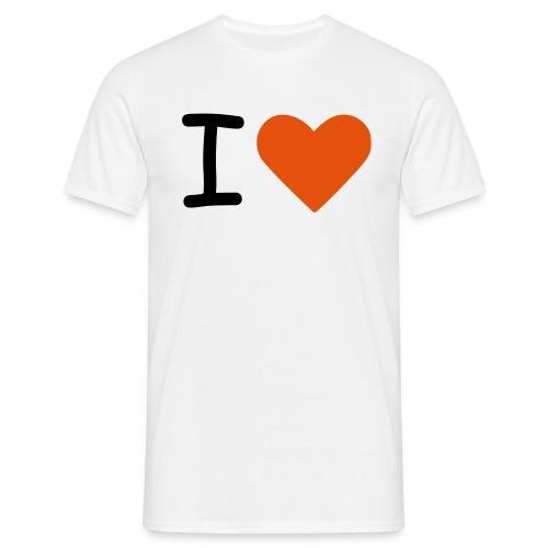 I love feet - Camiseta hombre