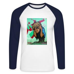 Ouch - Men's Long Sleeve Baseball T-Shirt