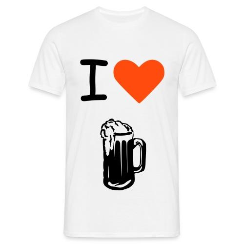 Biertje - Mannen T-shirt