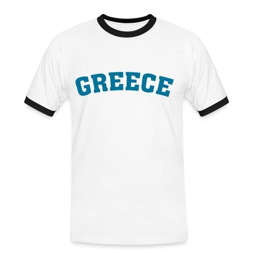 Greece Shirt - Männer Kontrast-T-Shirt