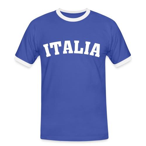 Italia Shirt - Männer Kontrast-T-Shirt