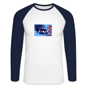 Blurred lights - Men's Long Sleeve Baseball T-Shirt