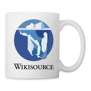 Tasse Wikisource - Mug blanc