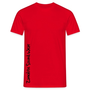 Zamalite Sound Wear Simple Rouge - T-shirt Homme