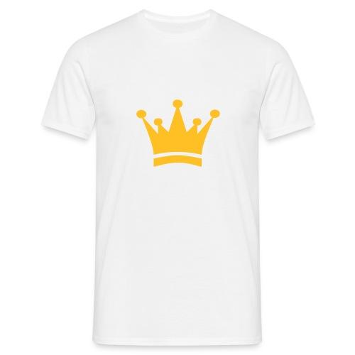 gnistrande krona - T-shirt herr