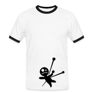 T-Shirts ~ Men's Ringer Shirt ~ vodoo doll