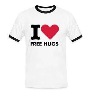 I love free hugs - Men's Ringer Shirt