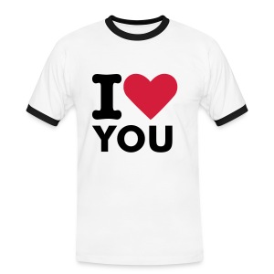 I love you - Men's Ringer Shirt