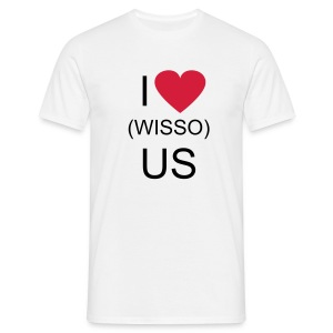 I LOVE (WISSO) US - T-shirt Homme