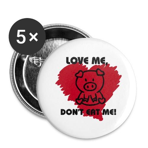 5 pack  - Buttons medium 32 mm