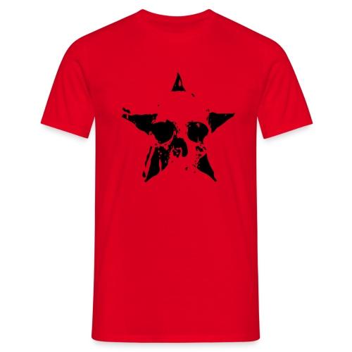 Rojo death negro - Camiseta hombre