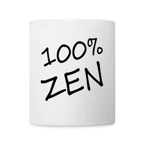 100% zen - Mug blanc