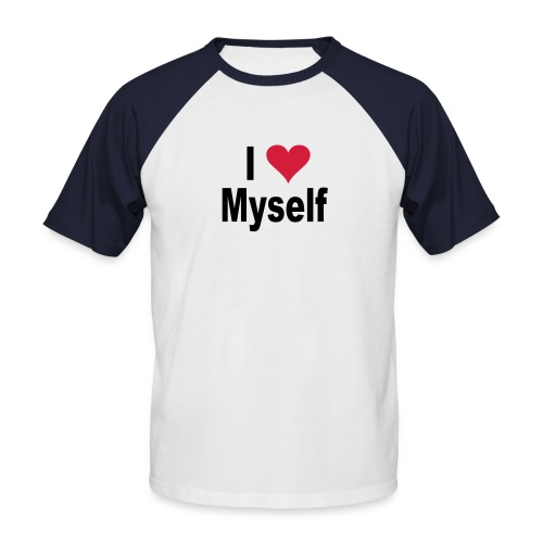 i love3 - T-shirt baseball manches courtes Homme