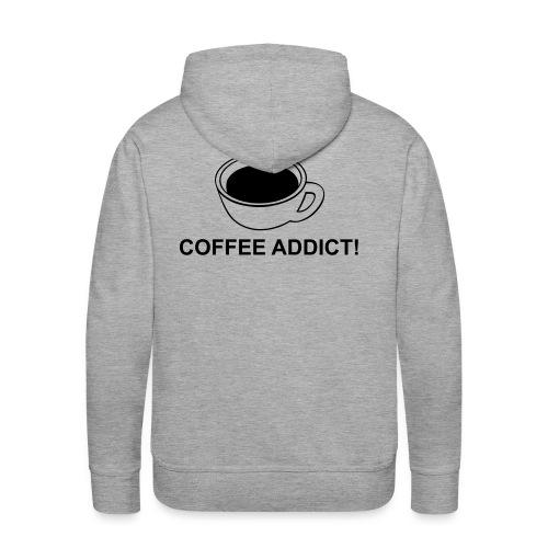 cafe1 - Sweat-shirt à capuche Premium pour hommes
