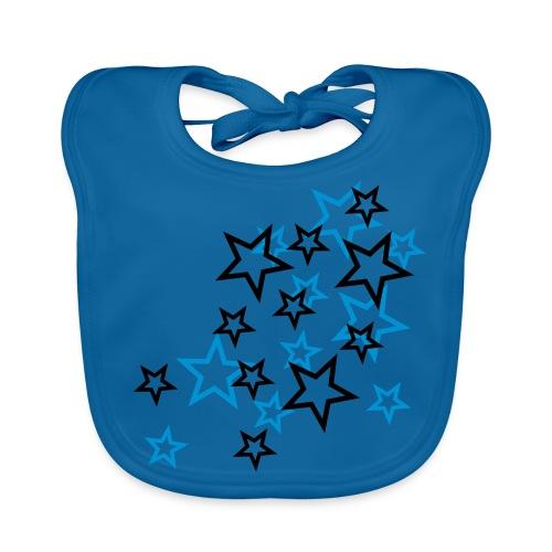 Slab stars boy - Bio-slabbetje voor baby's