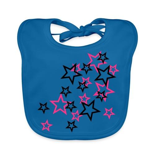 Slab stars girl - Bio-slabbetje voor baby's