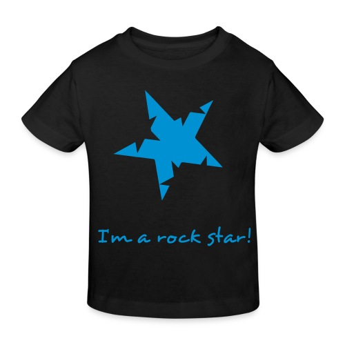 Rock star boy - Kinderen Bio-T-shirt
