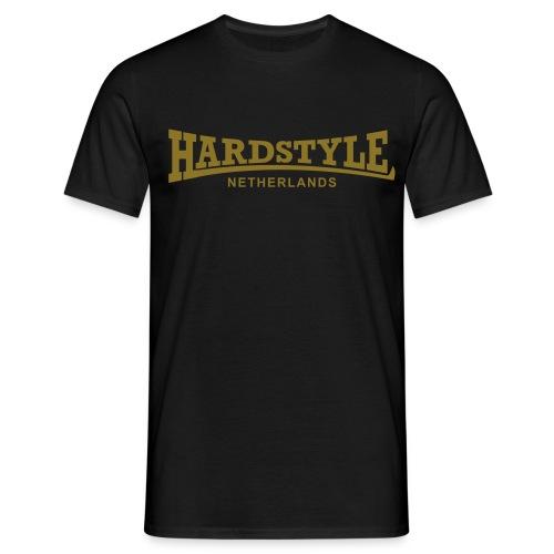 Hardstyle Netherlands - Gold - Men's T-Shirt