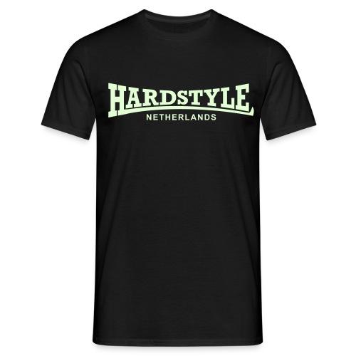 Hardstyle Netherlands - Glow in the dark - Men's T-Shirt