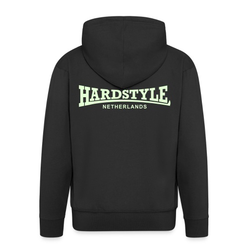 Hardstyle Netherlands - Glow in the dark - Men's Premium Hooded Jacket