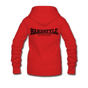 Hardstyle Netherlands - Black - Women's Premium Hooded Jacket